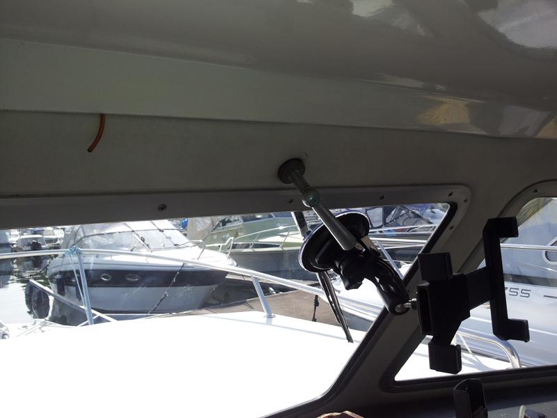 Manuell vindusvisker båt